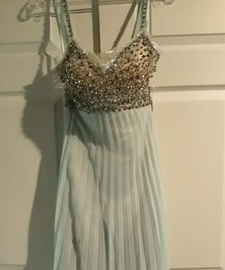 Jovani short Silk dress